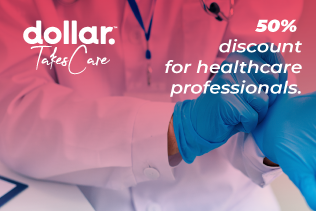 Special promotion for health  professionals