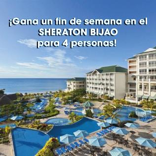 Gana un fin de semana en el Sheraton Bijao con alquiler incluido