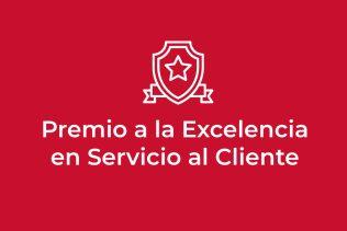 Premio a la Excelencia en Servicio al Cliente