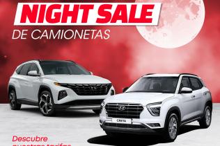 Promo Night Sale Camionetas